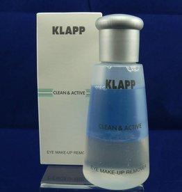 Klapp Clean &. Active Eye Make-up Remover