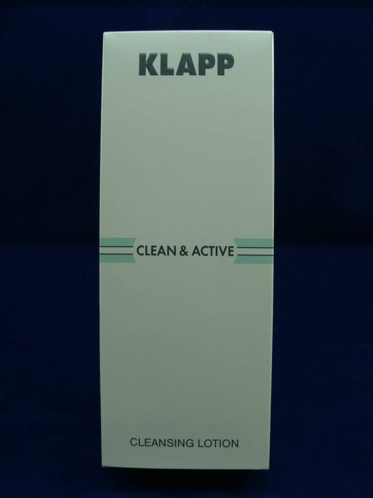 Klapp Clean &. Active Cleansing Lotion 250ml