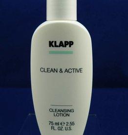 Klapp Clean &. Active Cleansing Lotion 75ml