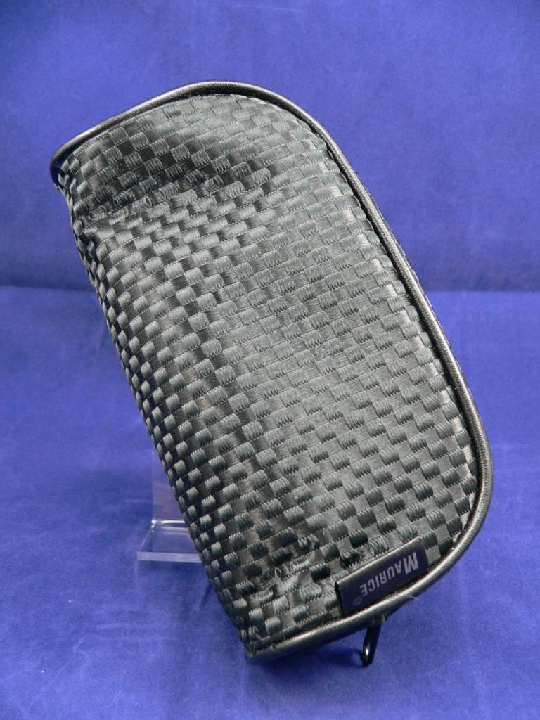 Kosmetiktasche von Maurice im schwarzen Carbon-/Karo-Design in klein