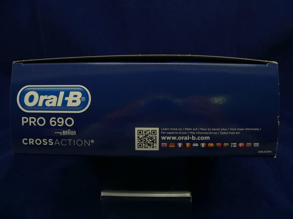 2 Zahnbürsten Vorteilspack Oral-B Pro 690