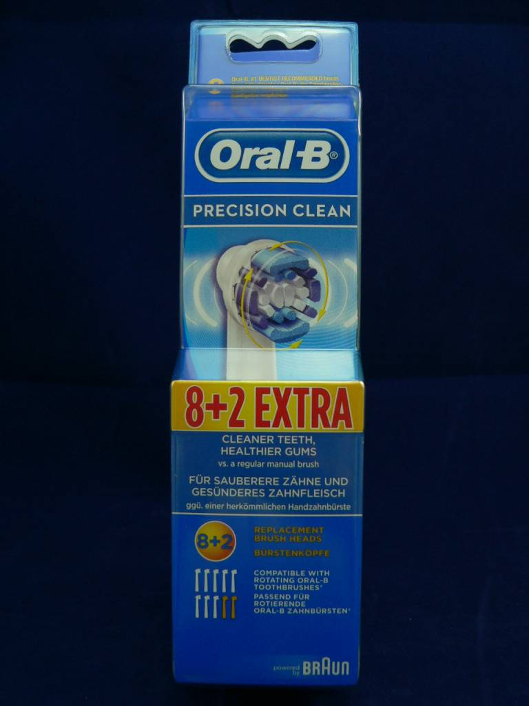 Oral-B Precision Clean 8 + 2 Extra Bürstenköpfe