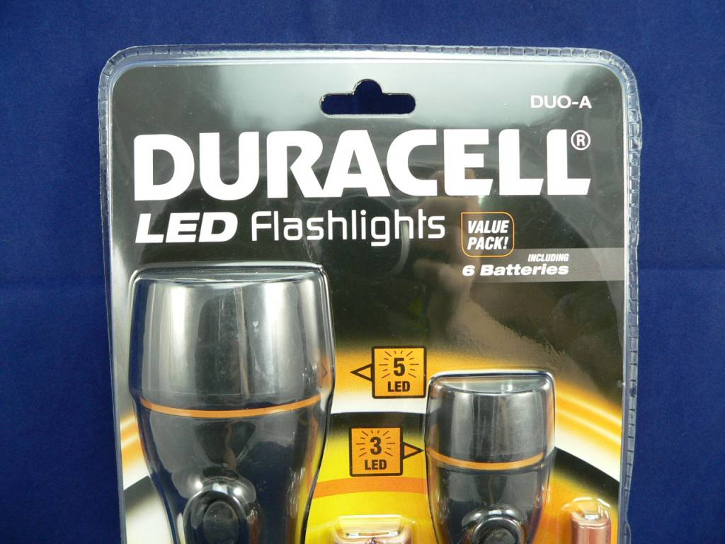 Duracell LED Taschenlampen-Set