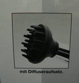 Haartrockner, Haarfön in silber/schwarz