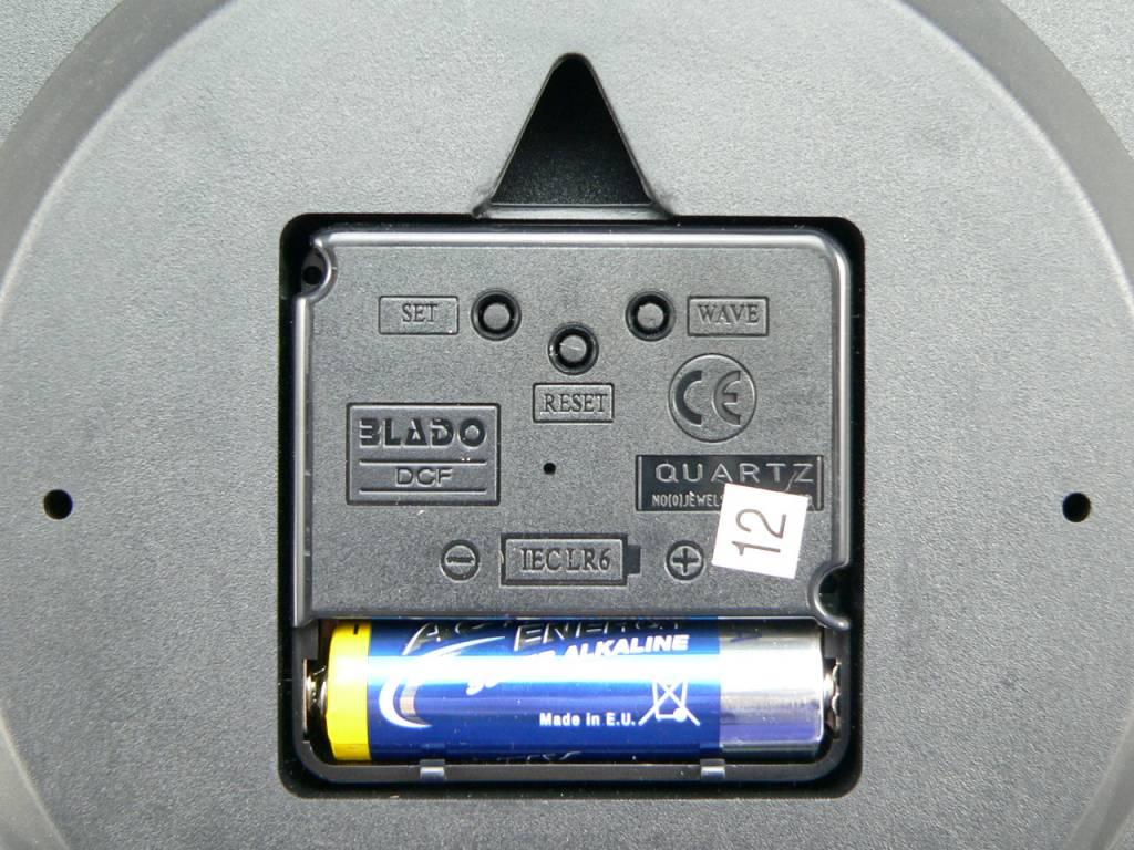 Eurochron Funk-Wanduhr EFWU 555 S