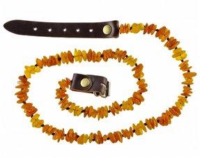 Baltic amber collars