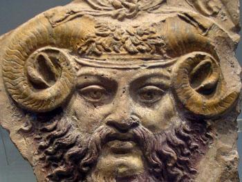 Ammon, de god met de ramshoorns en de naamgever van de ammonieten