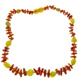 Amber Baby teething necklace mulit colour