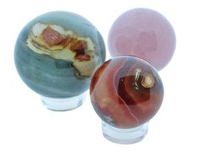 Gemstone spheres