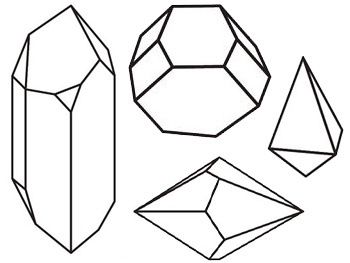 Kristalvormen