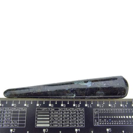 Larvikite wand for massage - 10 cm