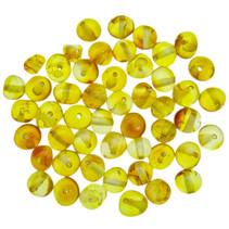 Amber beads rounded Honey