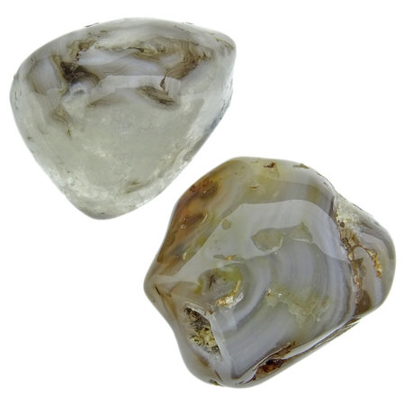 Water agate from Brazil