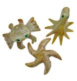 3 soapstone animal figures