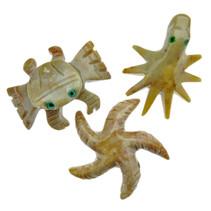 Animal figures, 3 sea animals
