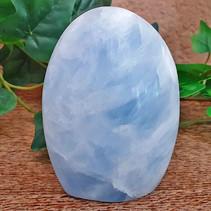 Blue calcite stand