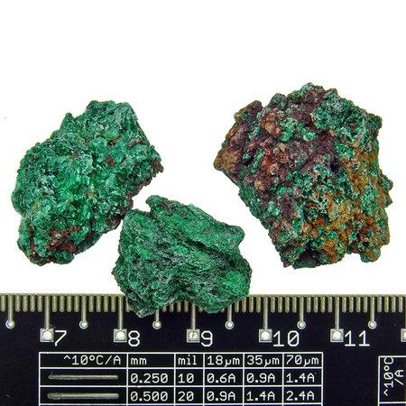Beautiful green malachite