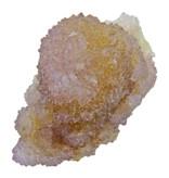 Cactus or spirit quartz with citrine and amethyst