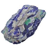 Mooie blauwe azuriet uit Congo