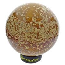 Ocean jasper sphere, diameter 7.4 cm