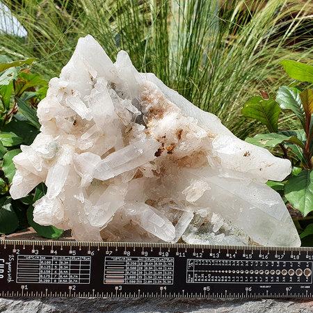 Mooie cluster van bergkristal uit Madagaskar