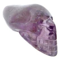 Skull of amethyst