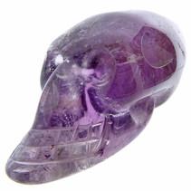 Skull van amethist