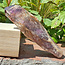 Powerful amethyst cathedral or elestial point, 355 grams