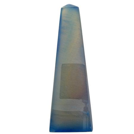 Beautiful obelisk of agate from Brazil