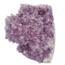 Diep paarse amethist cluster uit Uruguay 1425 gram