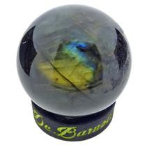 Labradorite sphere diameter 4 cm