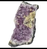 Diep paarse amethist cluster uit Uruguay 1175 gram