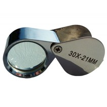 Single magnifying glass, 30 x 21mm