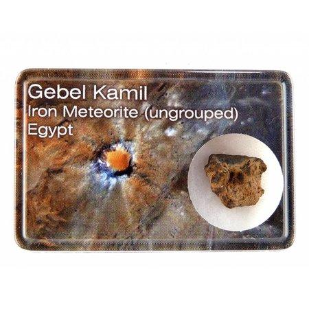 Gebel Kamil iron meteorite in gift box