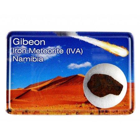 Gibeon iron meteorite in giftbox
