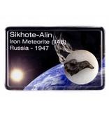 Sikhote-Alin iron meteorite in gift box