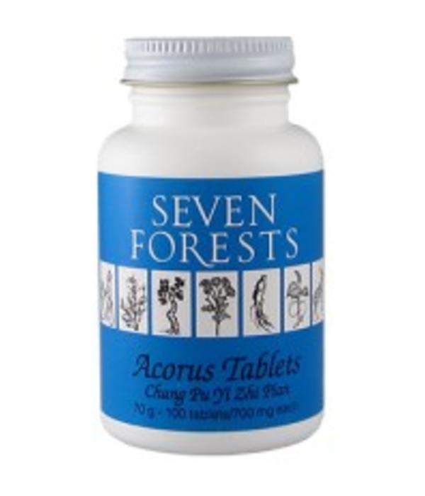 Seven Forests Acorus Tablets | 100 Tabletten
