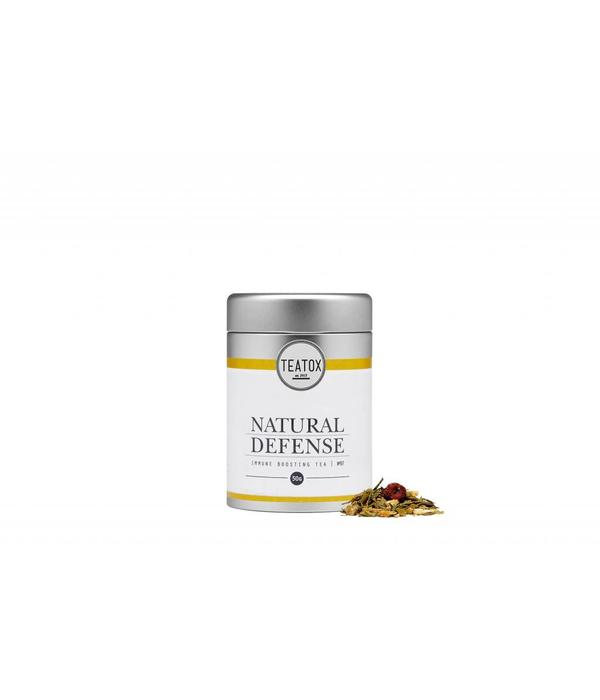 Teatox Natural Defense Bio Green Tea Ginger 50g