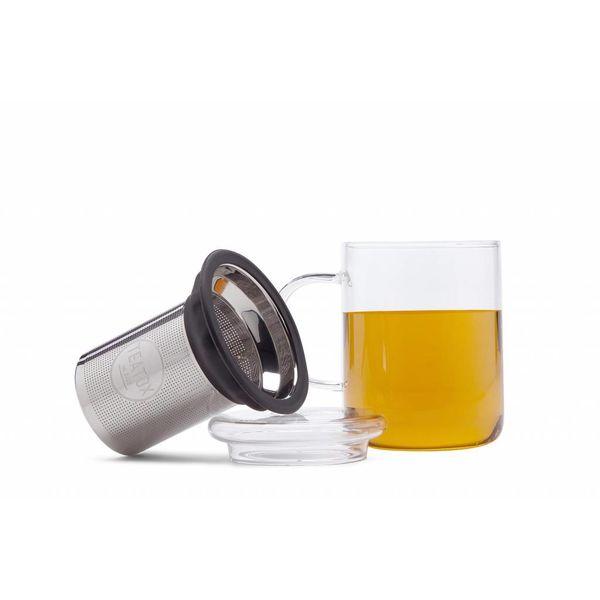 Glazen Theemok met RVS Filter