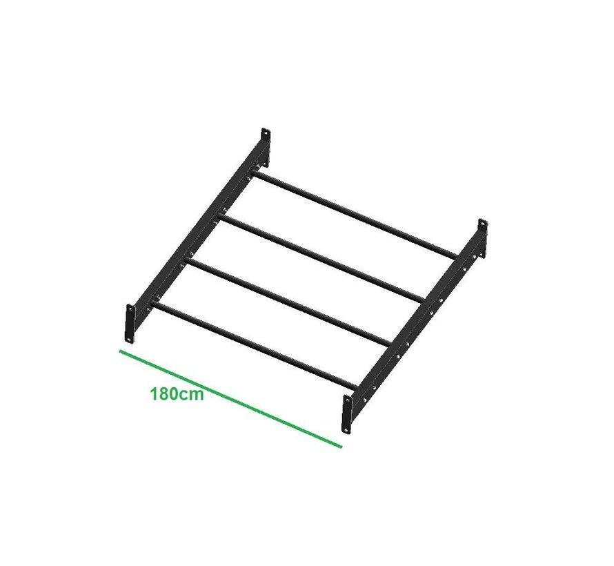 Incline monkey beam set 110cm