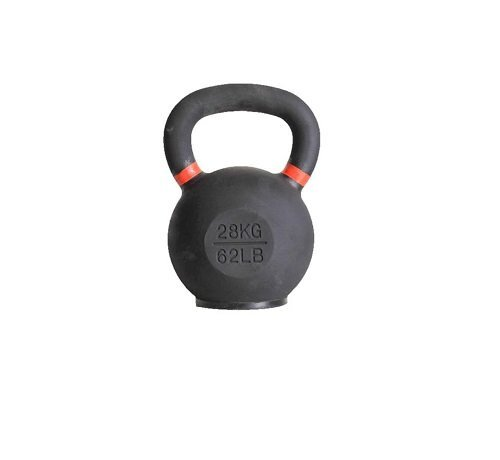 Fitribution 28kg kettlebell with coloured ring and rubber foot