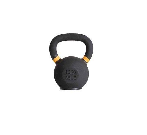 Fitribution 16kg kettlebell avec anneaux colorés avec/sans pied en caoutchouc