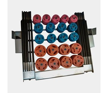 Fitribution Body Pump rack de rangement