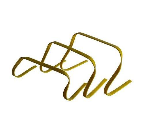Fitribution Haies de vitesse flexibles set de 3 hauteurs (15-23-30cm)