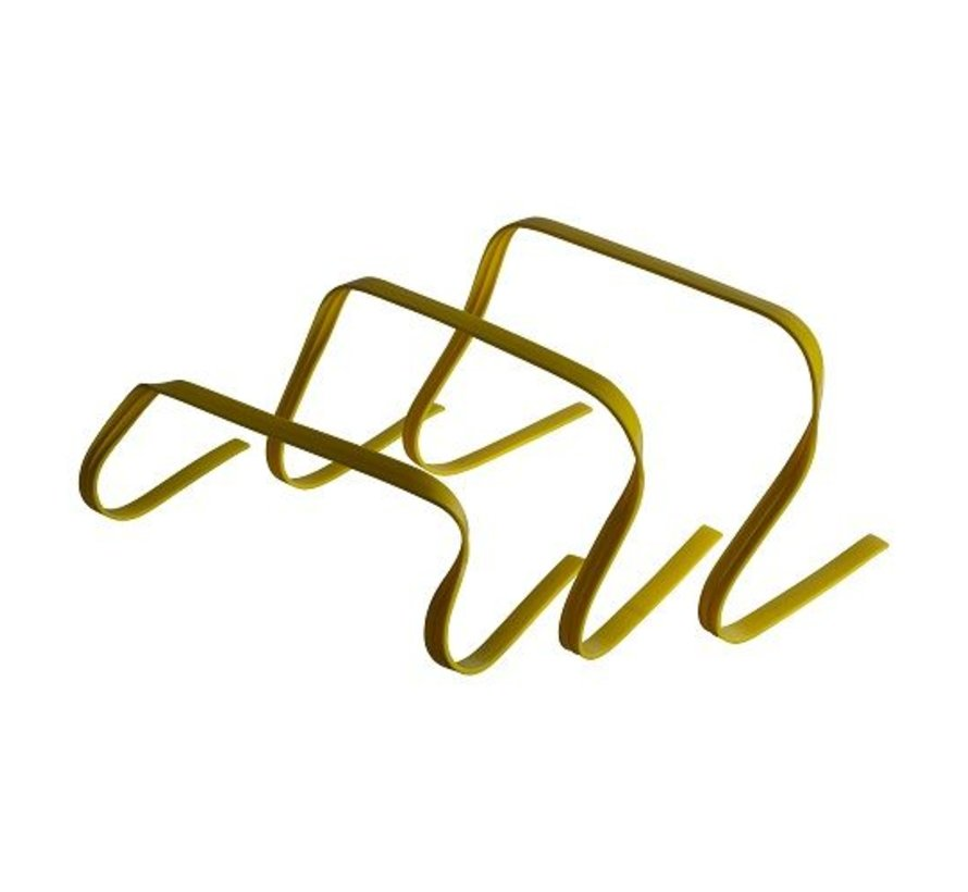 Flexibele agility hurdle set (15-23-30cm)