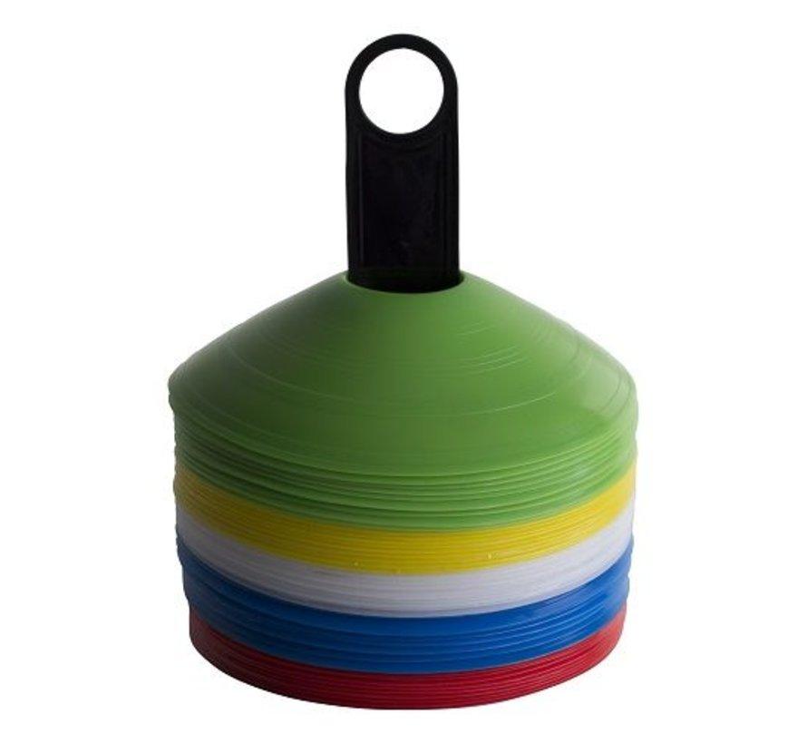 Agility Cones (50 stuks) met houder