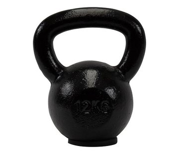 Fitribution 12kg kettlebell with rubber foot