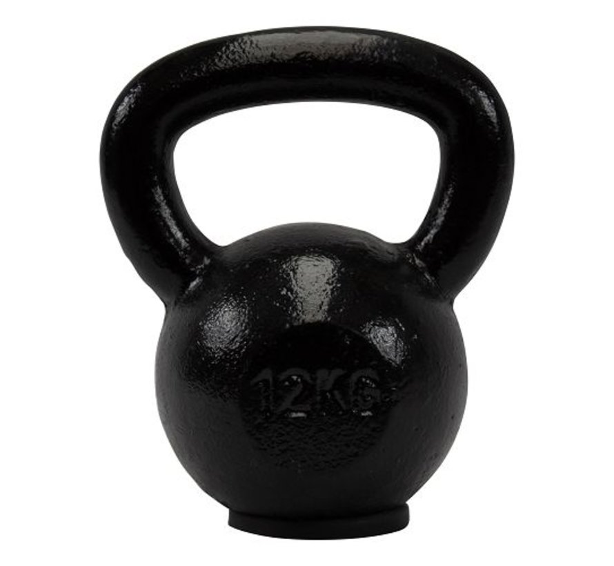 12kg kettlebell with rubber foot