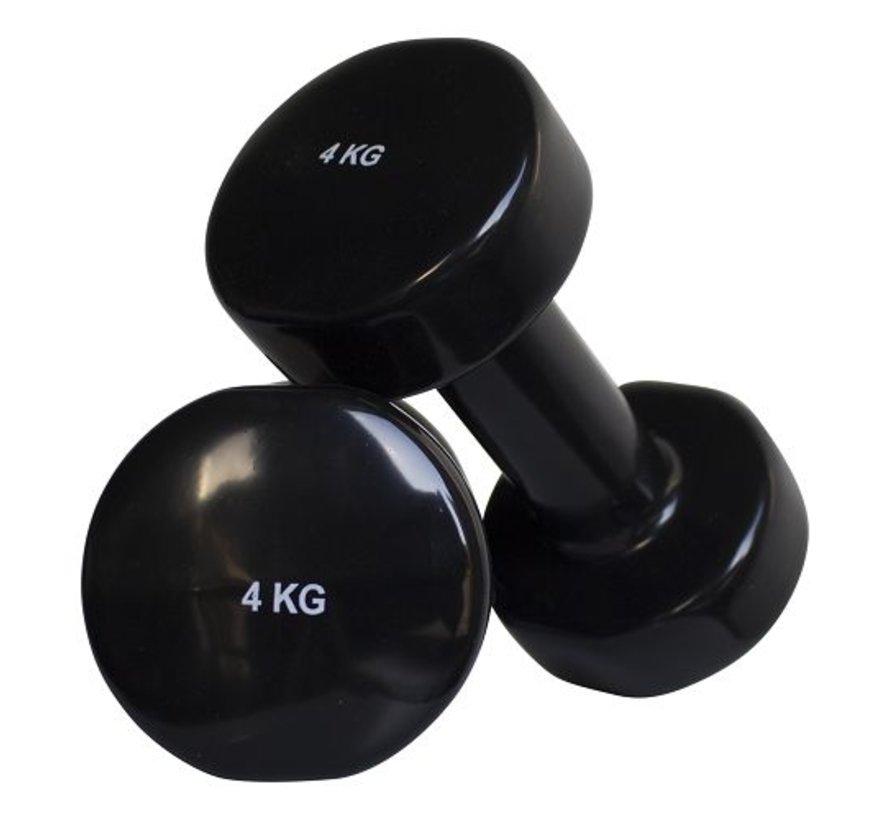 Aerobic dumbbells 4kg (1pair)