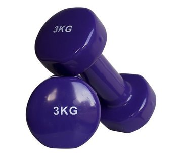 Fitribution Aerobic dumbbells 3kg (1pair)
